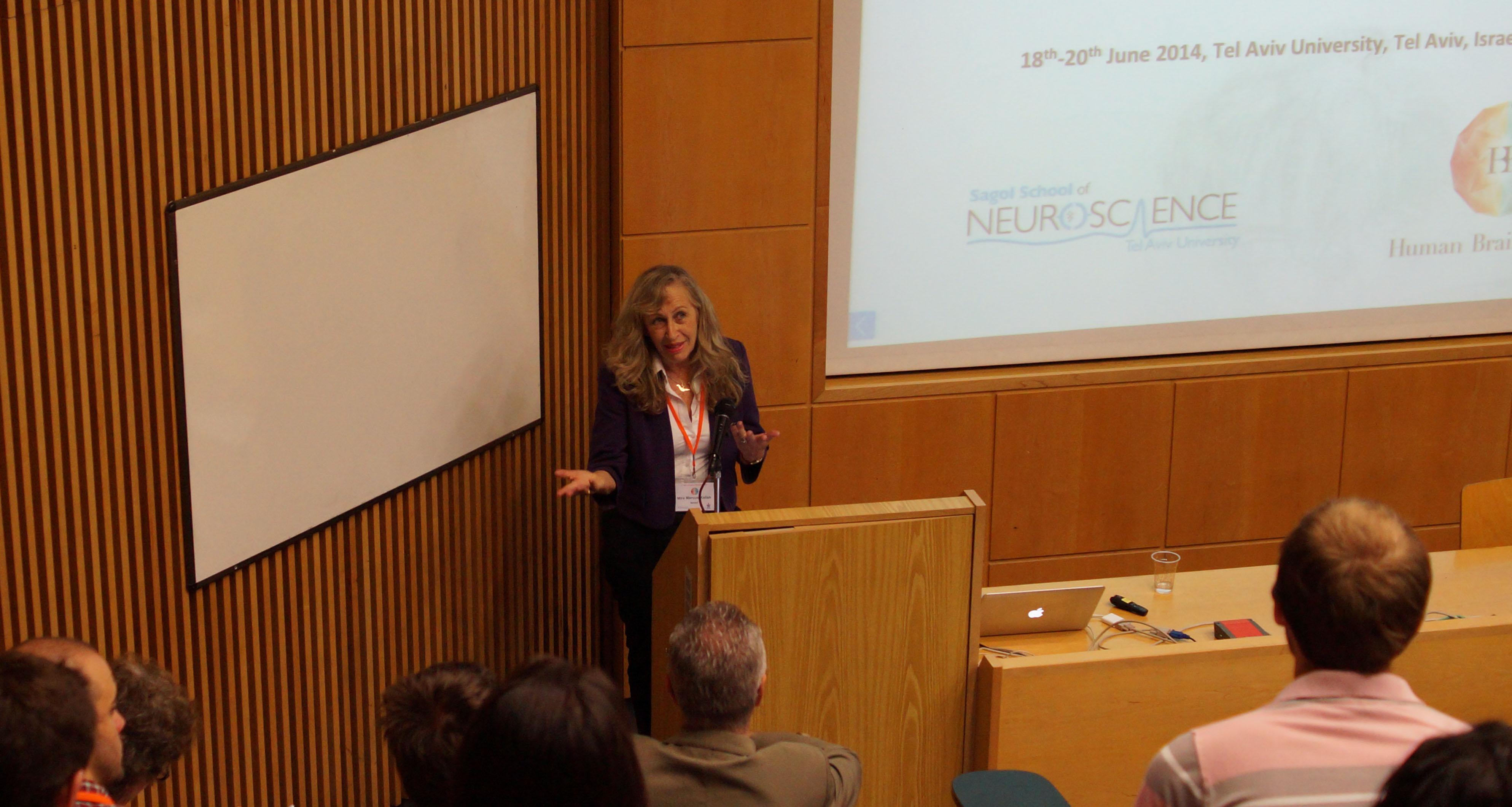 Opening session Prof. Marcus-Kalish -