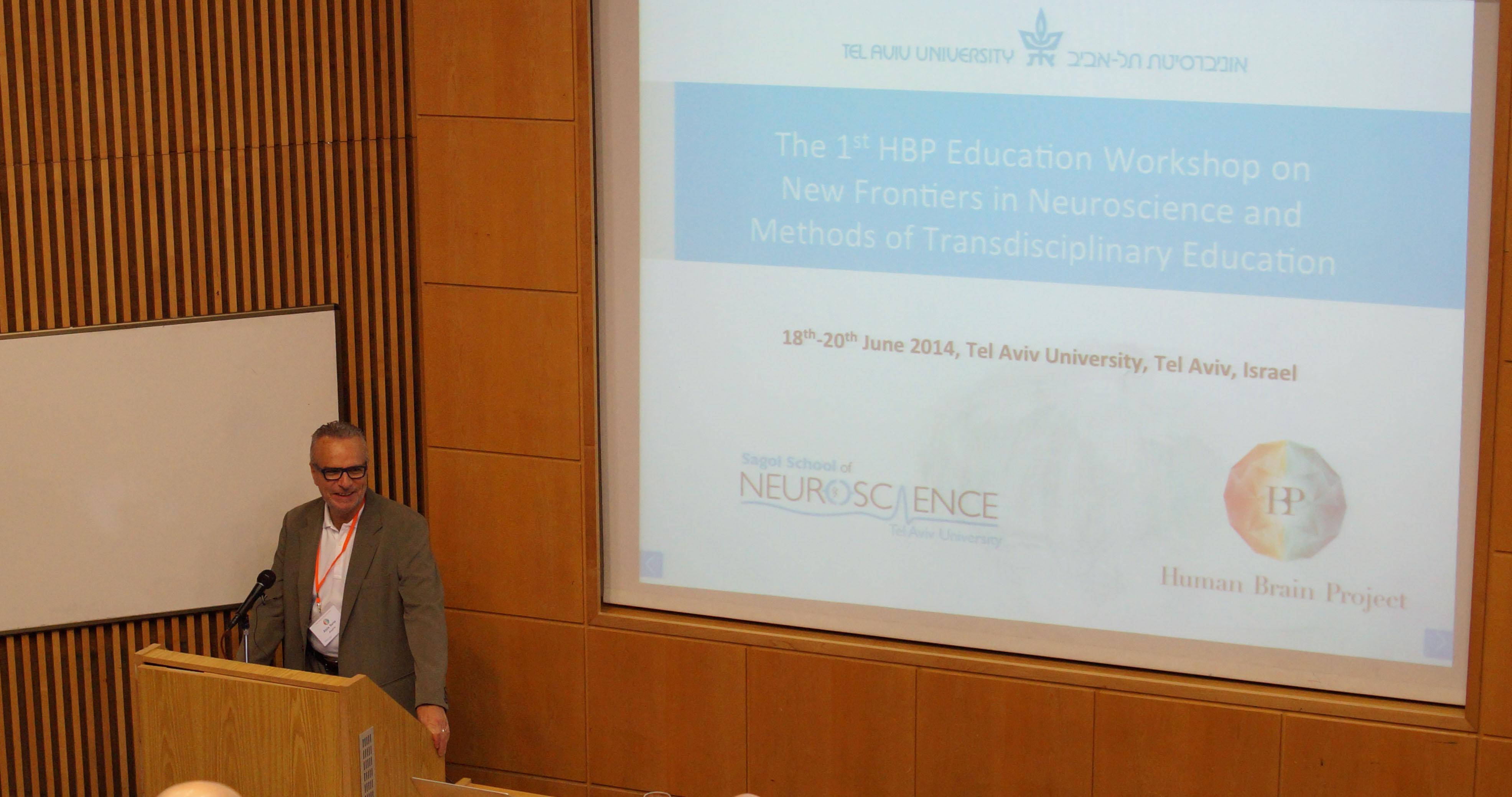 Opening session Prof. Saria -